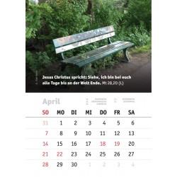 Kalenderblatt April 2019