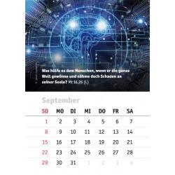 Kalenderblatt September 2019